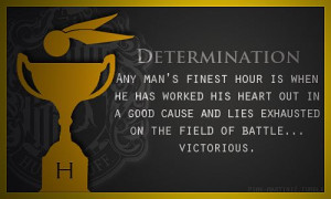 Quidditch House Quotes - Hufflepuff