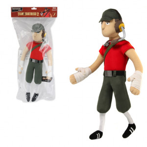Team Fortress 2 Scout and Pyro Plush