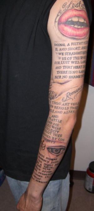 Tattoos Quotes Feet Zimbio