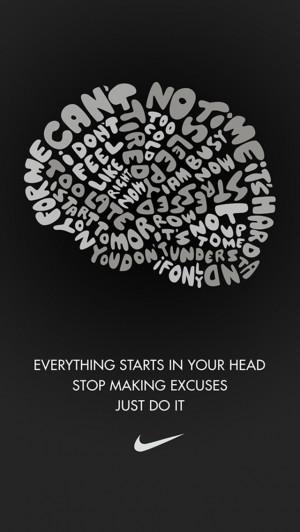 Nike Quotes Wallpaper Quotesgram