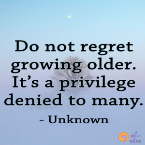 Aging and Wisdom Inspirational Quotes for Caregivers