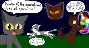 Warrior Cats Bluestar And Oakheart Mating Warrior cat illusions 1 by