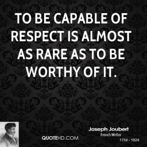 Capable Respect Almost Rare Worthy