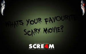 Scream quote! :)