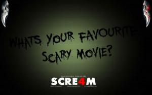 Scream quote! :)