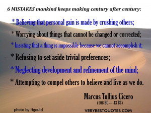 Mistake quotes – Six mistakes mankind keeps making century after ...