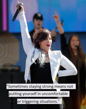 Demi Lovato Quotes About Strength 5 on strength