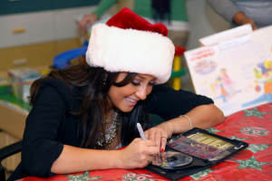 Re: Adrienne Bailon Visits Children @ Beth Israel Medical Center 12/23