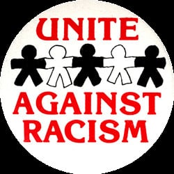 MG177 - Unite Against Racism - Magnet