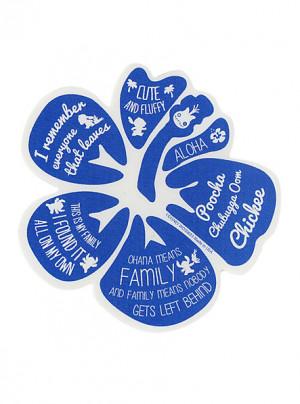 lilo stitch flower quotes sticker sku 10181215 $ 2 99 disney lilo ...