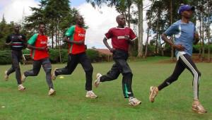David Rudisha, Yusuf Biwott, Mang'ata Ndiwa, Isaac Songok & Augustine ...