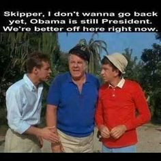 Wish I was on Gilligan's Island. More