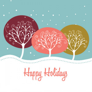 Holiday card by PurpleTrail.com.