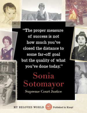 Alfred A. Knopf Books Sonia Sotomayor