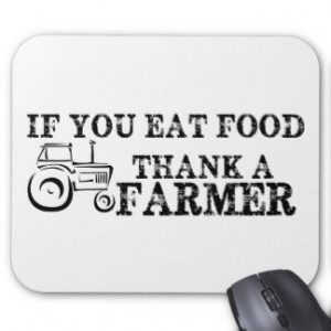 Thank A Farmer Mousepads