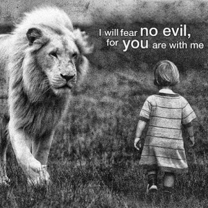 Amen; I believe in that