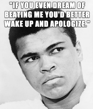 14 Quotes From Trash Talking Extraordinaire, Muhammad Ali