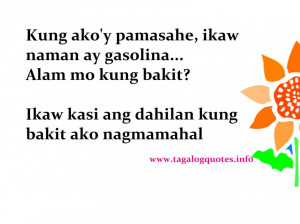 Funny Tagalog Quotes About Life: Ohayo Collections Tagalog Love Quote ...