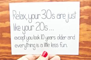 Funny Birthday Card - 30th Birthday Card