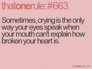 broken, heart, life, quotes, quotes and phrases, quotes and sayings ...