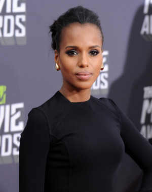 Scandal': Kerry Washington Explains her Quote about Fitz's Race