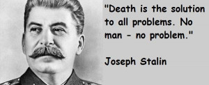 Joseph stalin famous quotes 1