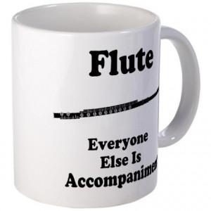Funny Flute Gift Mug on