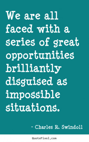 Charles R. Swindoll Motivational Wall Quotes