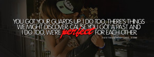 ... to get this we are perfect for each other drake quote timeline banner