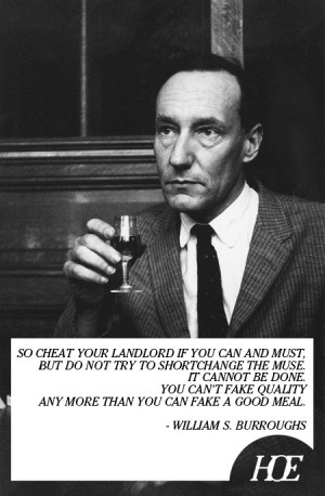 Quote of the Day: William S. Burroughs