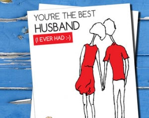 Funny Birthday Quotes For Husband From Wife Funny, husband & wife card