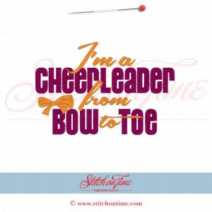 108 Cheerleader : If You Mustache I Love To Cheer Applique 5x7