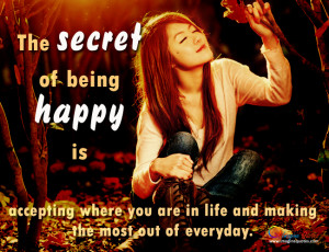 Cute Quotes About Being Happy With Life ~ Inn Trending » Cute Quotes ...