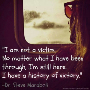 am not a victim