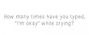 depressed depression sad quotes Typography sayings depressing ...