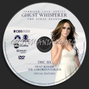 Ghost Whisperer Season 5 dvd label