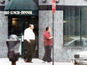 ... rat that toppled Vito Rizzuto, pictured with Bonanno Mafia boss Joe