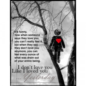 don`t love you anymore - Polyvore