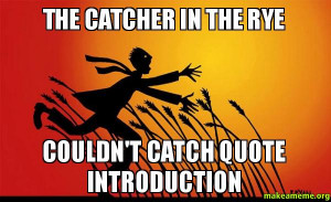 The Catcher in the Rye - Wikipedia, the free …