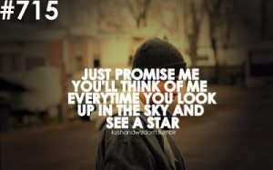 Just promise me