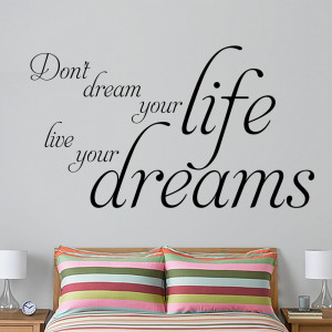 Life Quote Live Your Dream