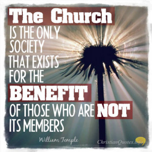 ... Temple Quote – 4 Common Misconceptions about Christian Churches