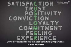 Customer experience is the new advertising department