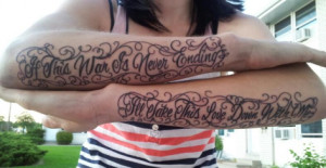 Back > Tattoo's For > Overcoming Depression Tattoo Quotes