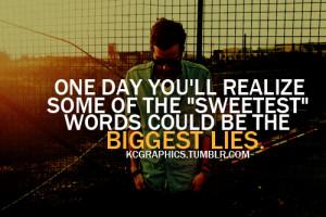 PEOPLE LIE.