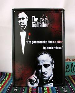 Classic-The-Godfather-Movie-Quote-Italian-Mafia-Classic-Tin-Sign-Metal ...