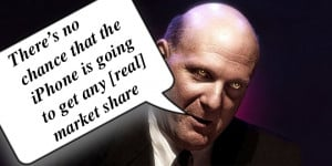 Steve Ballmer Quotes: Top 10 Apple Gaffes