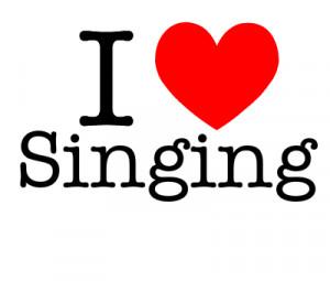 love singing