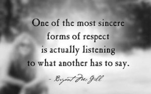 Inspirational Message: Respecting Others Quotes – July 22, 2014