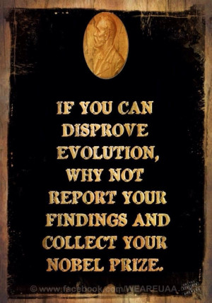 Atheist quote about #Evolution